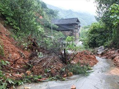 湖南暴雨致245万人受灾