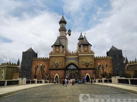 中国首座互联网主题乐园 柳州卡乐星球将试运营