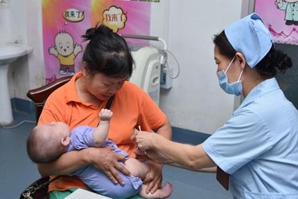 婴幼儿肺炎球菌疫苗即日起在南宁市全面开始接种