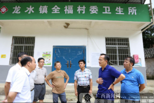 全州县长廖照德到龙水镇指导灾后重建工作(组图)