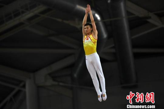 中国蹦床冠军赛山西落幕董栋状态良好夺两冠