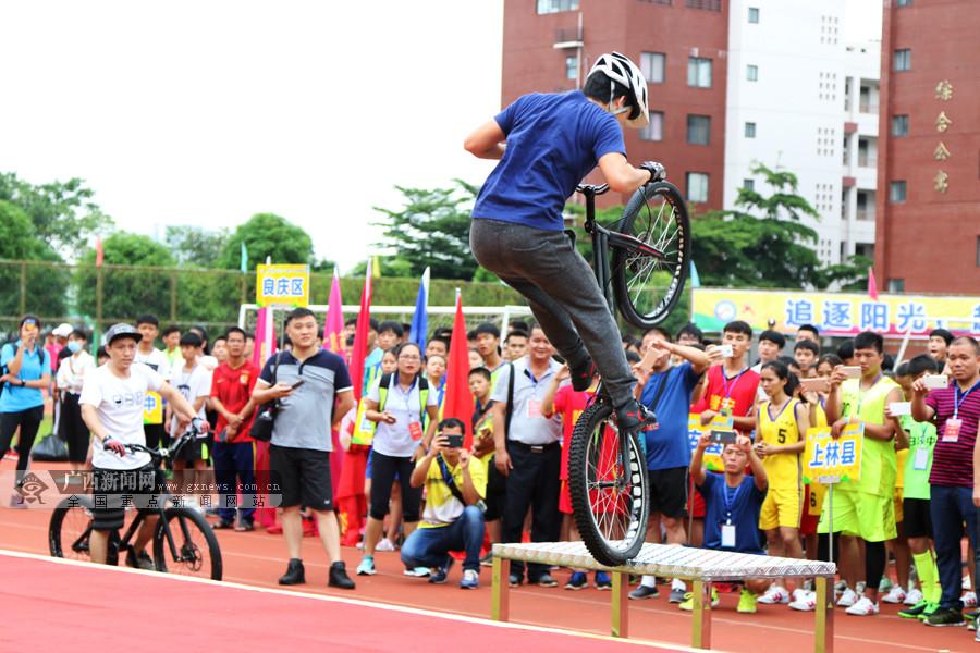 高清图集:2017南宁市青少年阳光体育大会精彩瞬间