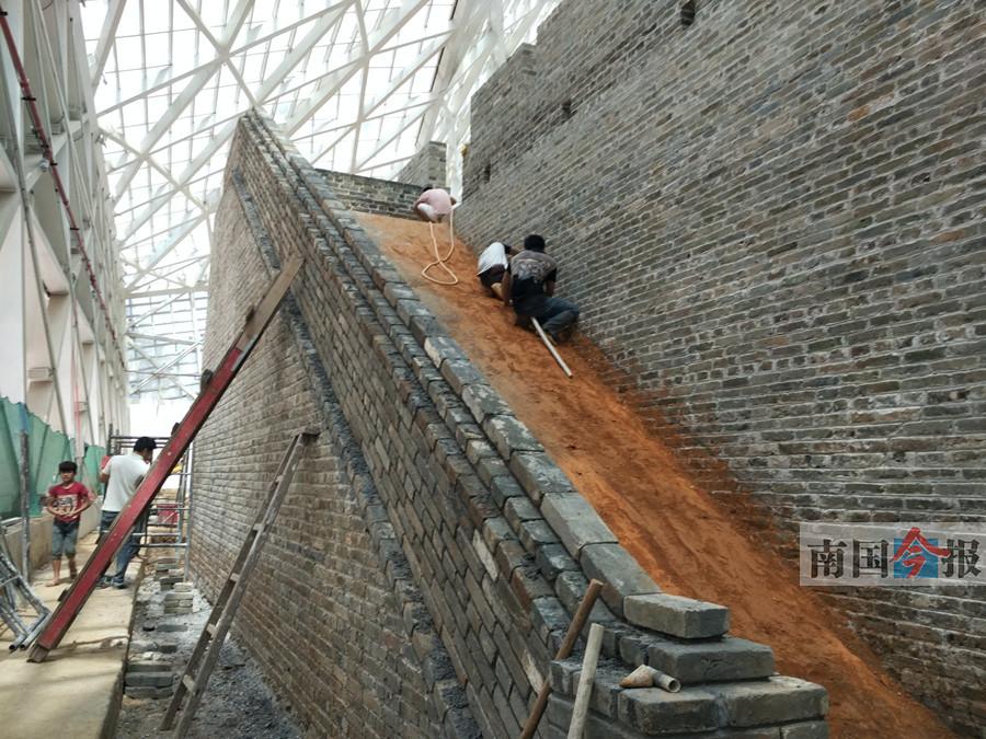 柳州:风情港正南门城墙遗址考古发掘硕果累累