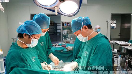 广西人民医院收治龙州农村贫困先心病患者
