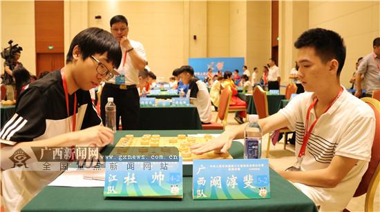 全运会象棋比赛结束 广西象棋代表队获团体第七名