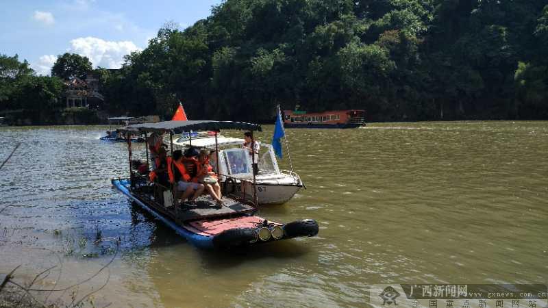 桂林漓江排筏连续封航19天 今日全线解除交通管制