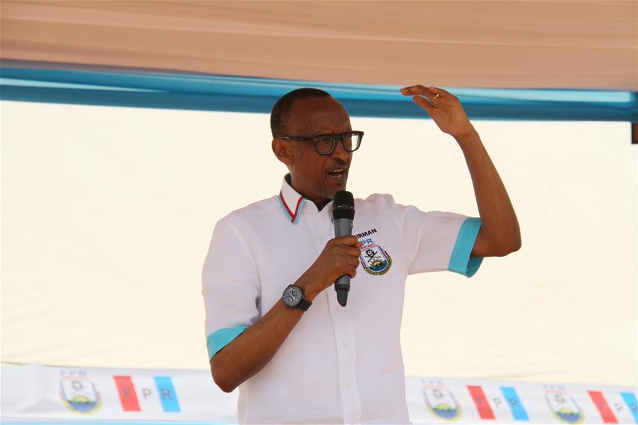 (XHDW)(1)卢旺达总统选举竞选活动拉开帷幕