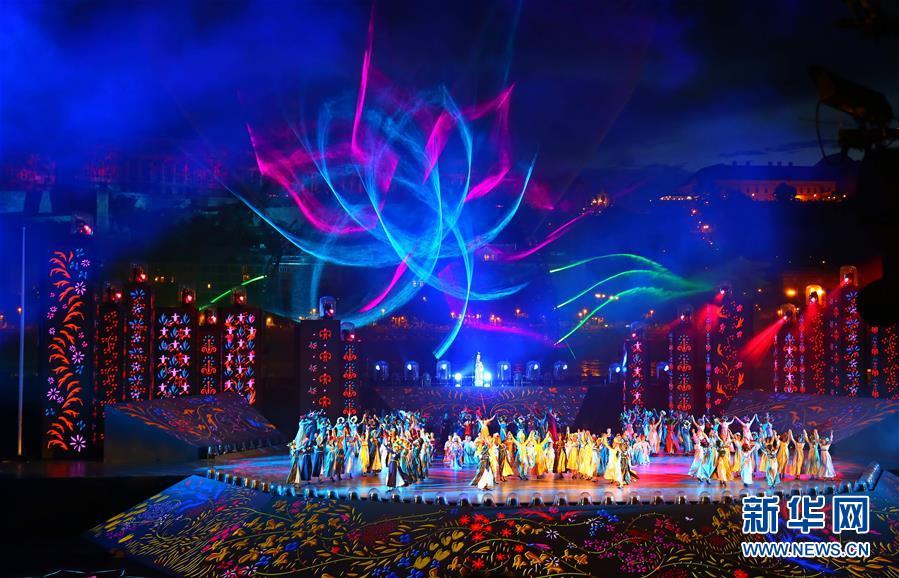 (游泳世锦赛)(10)第17届世界游泳锦标赛举行开幕式