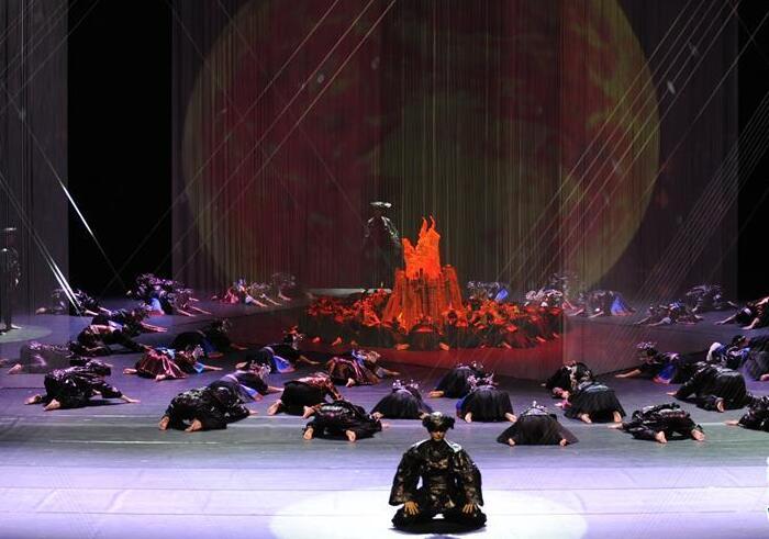 舞蹈诗《侗》在京上演
