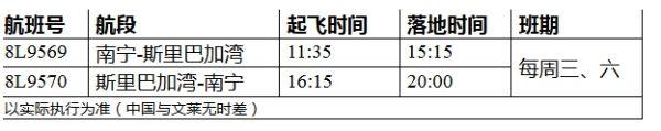南宁-文莱直飞航线7月15日开启首航
