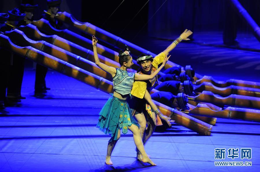 (文化)(2)舞蹈诗《侗》在京上演