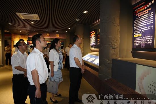 农行柳州柳江支行组织干部员工参观廉政教育基地