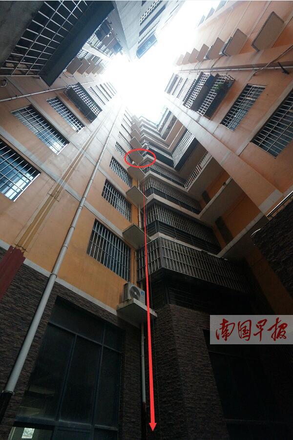 7月17日焦点图:南宁一岁半男孩从6楼家里阳台坠亡