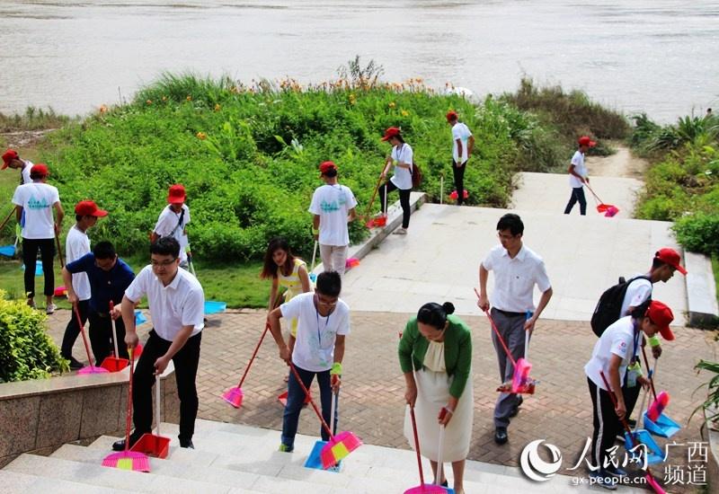 12省区高校学子参加绿色营活动 身体力行建设美丽广西