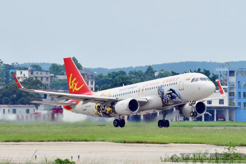 北部湾航空长沙=潍坊=沈阳航线将于9月13日开通