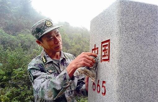 那坡天池国防民兵哨所哨长凌尚前:为祖国守界碑