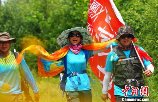 2017全国徒步大会第四站比赛在黑瞎子岛举行