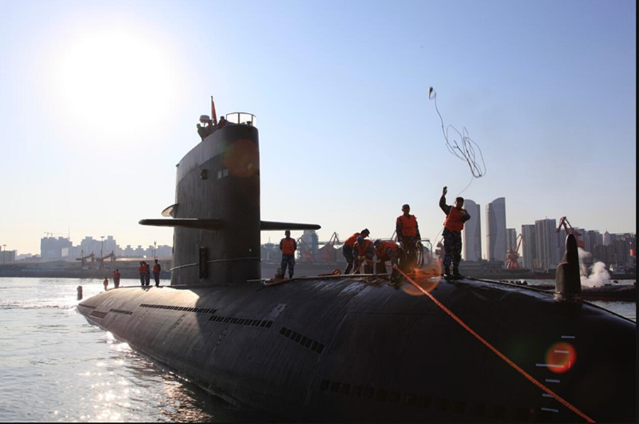 北海舰队某潜艇支队:十年如一日只为国家安稳