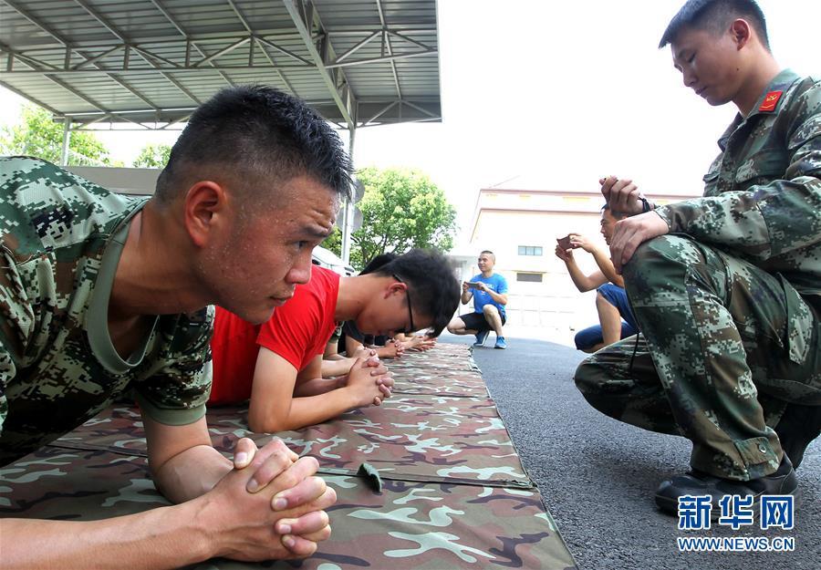 (军事)(1)军营一日 助力征兵
