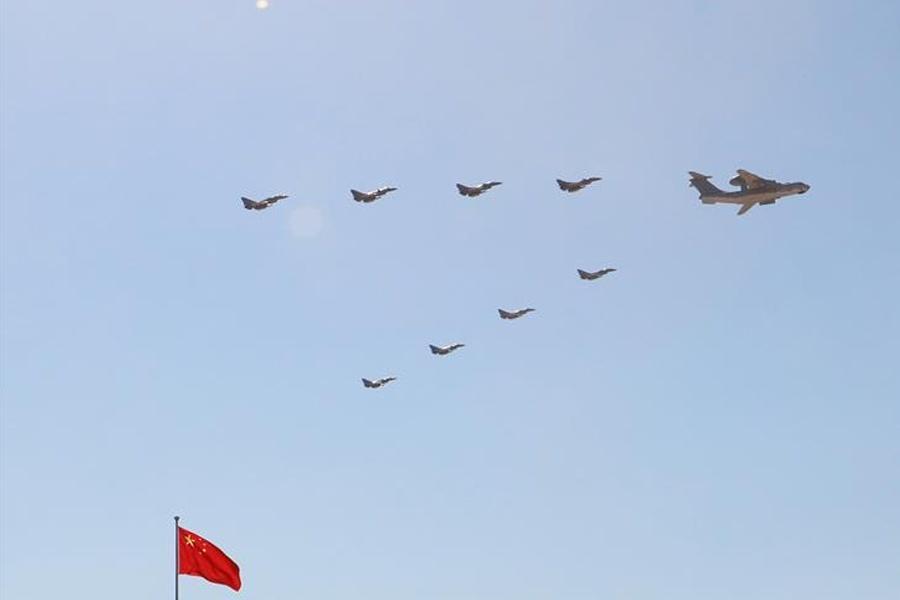 预警指挥机梯队:完整展示空中信息化作战体系