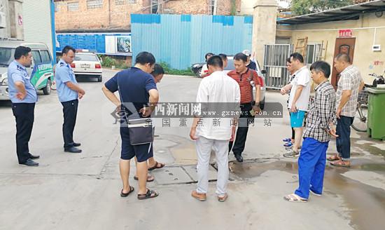 """南宁环保部门已找到40吨""""下落不明""""废旧电池"""