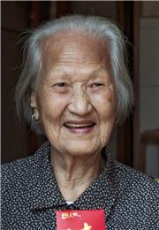 103岁的曾桂英老人