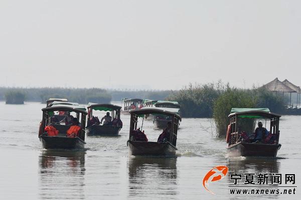 节能减排构建绿色沙湖 电动船取代燃油船