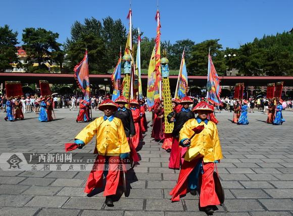 """【2017网络媒体晋城行】探访""""东方古堡""""皇城相府"""