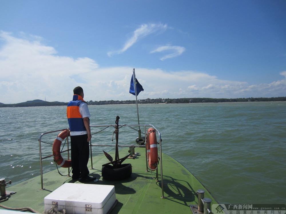 钦州海事完成《沧海丝路》拍摄水上警戒保障工作