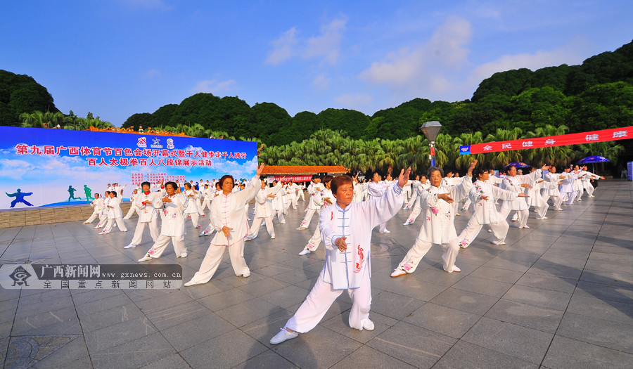第九届广西体育节百色会场开幕(组图)