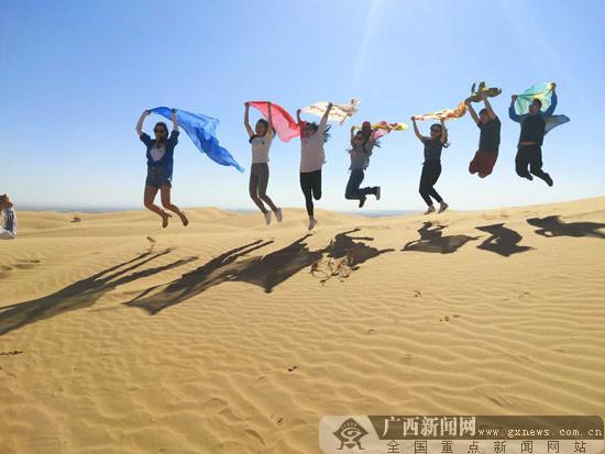 沙地上绘就发展蓝图梦 全国网媒汇聚中卫见证奇迹