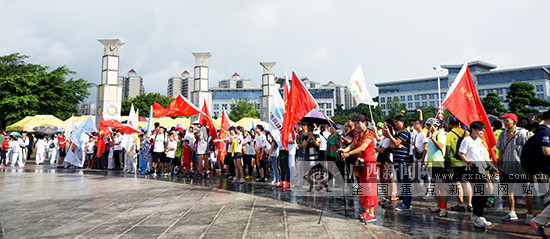 第九届广西体育节防城港市分会场开幕式活动启动