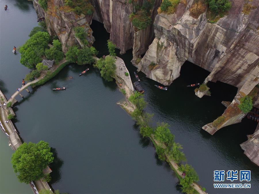 """(生态)(5)畅游江南""""水石大盆景"""""""