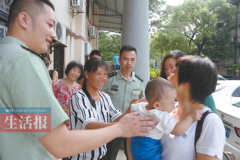 男子卖亲儿子14个人经手 民警追击3个月解救(图)