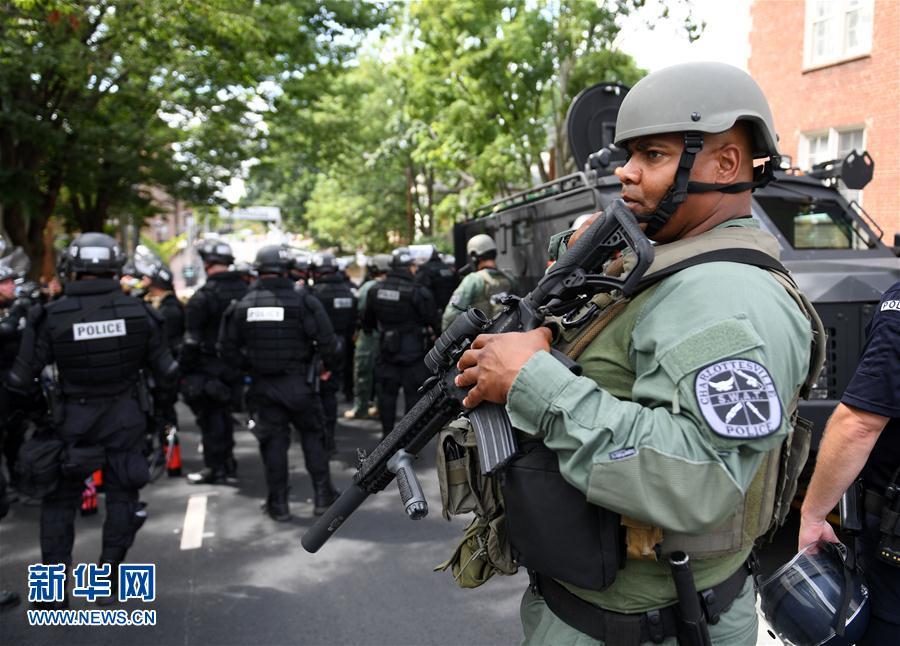 (国际)(1)美国弗吉尼亚州发生暴力事件致1死34伤