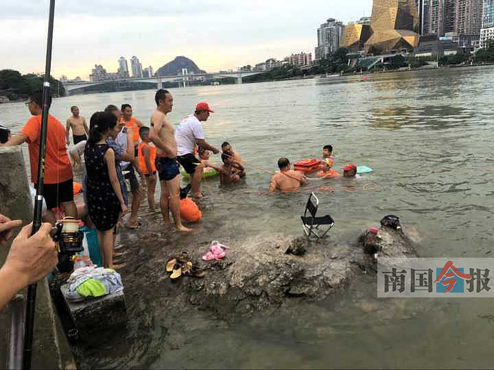 """江面藏""""杀机"""" 柳州赵家井河段半小时发生两起险情"""