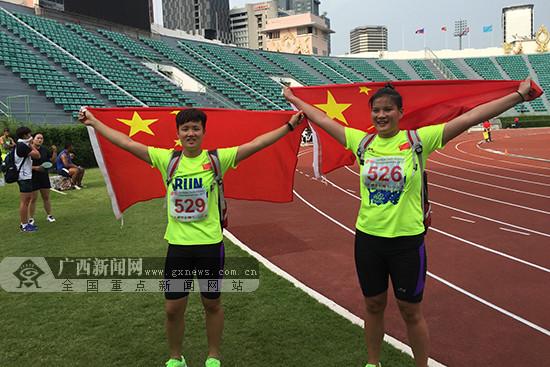 广西派12名小将出征第13届全运会田径青少组比赛