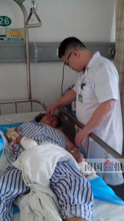 泉南高速发生重大车祸 医生通宵未眠做手术(图)