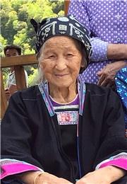 苗寨老人质朴温暖的笑脸