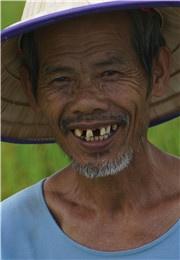 农民的微笑