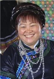 瑶族姑娘的微笑