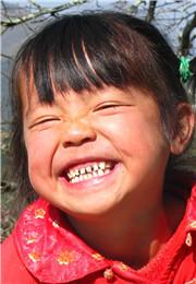 灿烂的笑容