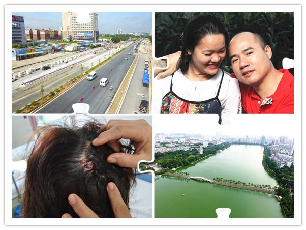 19日焦点图:南宁轨道交通1号线西段道路月底通车