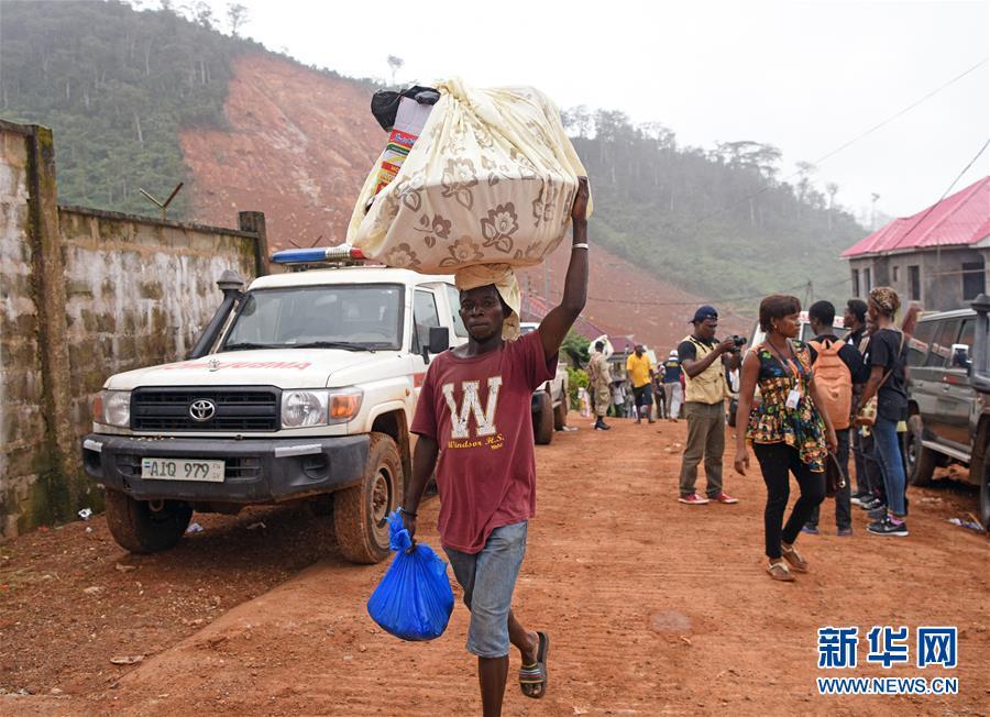 (国际)(1)塞拉利昂泥石流灾害遇难人数升至499人