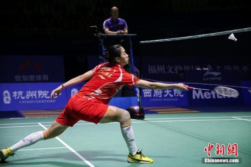 羽毛球世锦赛 中国羽毛球队迎 双核时代