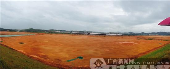 江西定南富田工业园废弃稀土矿山综合治理成效显著