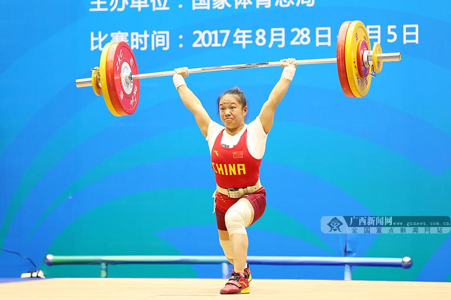 第13届全运会首日:广西代表团角逐多个项目(组图)