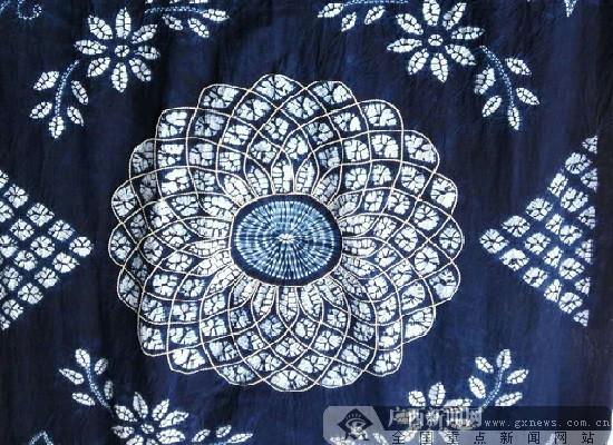 蜡染:隆林苗乡里绽放的民族之花