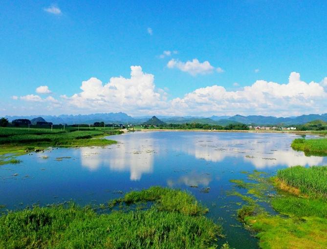 融安:湖光山色 美景如画(组图)