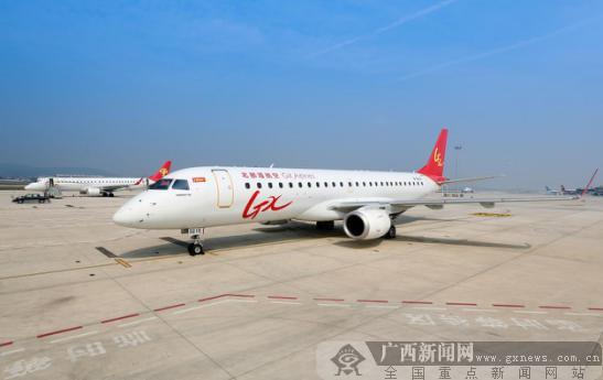 北部湾航空将于9月12日起新增长沙=唐山=大连航线